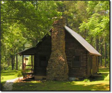 cabin on the cowpasture river Williamsville